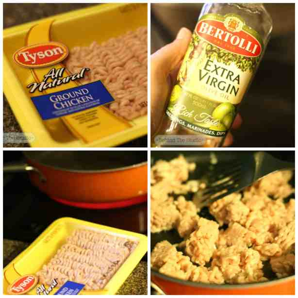 #ad Making chicken tacos with Tyson ground chicken from Walmart #CreateAMeal