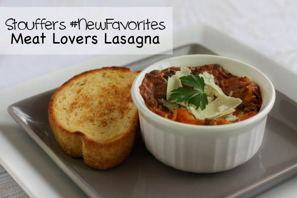 Quick, easy dinner with Stouffer's meat lovers lasagna #NewFavorites #cbias #shop