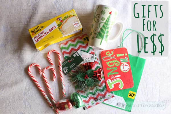 creating unique little christmas gifts for less from the dollar general