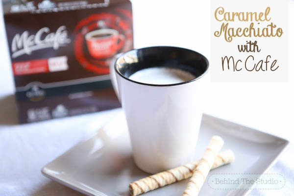 Making the best Caramel Macchiato with McCafe K-Cups #McCafeMyWay #Cbias #ad