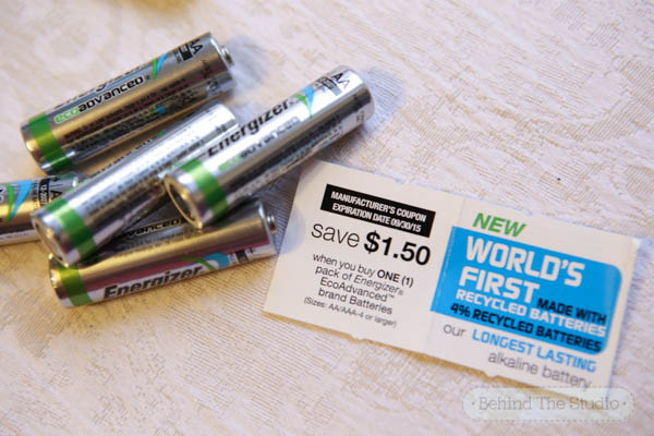 """This is the first battery on the market to use recycled batteries/materials     """"Energizer's longest lasting alkaline ever""""     EcoAdvanced batteries are also available in AAA. (Main focus is AA, but please mention the availibility of the AAA batteries.)     Focus on the fact this is a new product"""