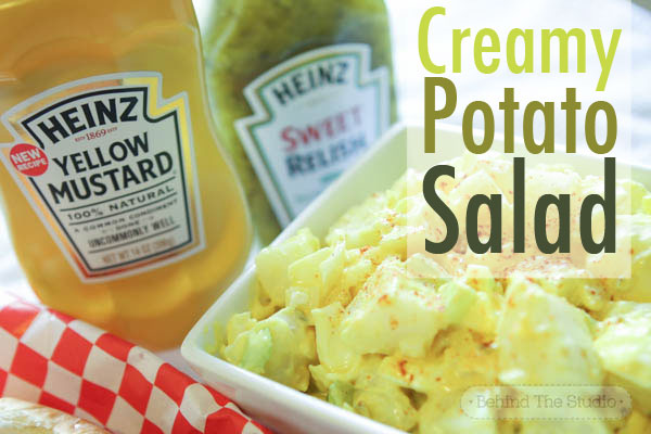Heinz ingredients make the tastiest, creamiest potato salad you'll have all summer #KetchupsNewMustard #ad