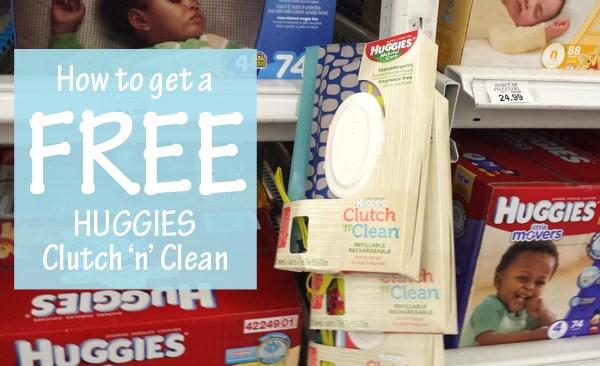 How to get a FREE Huggies Clutch 'n' Clean Wipes #OneStopShopForBaby #AD