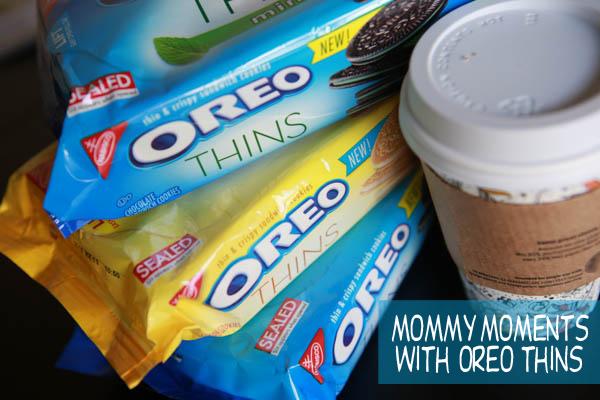 Enjoying my mommy moments with Oreo Thins from CVS #OREOThinsAreIn
