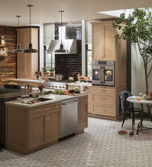 My dream kitchen with GE Café™ Series appliances #AD #ouramericankitchen
