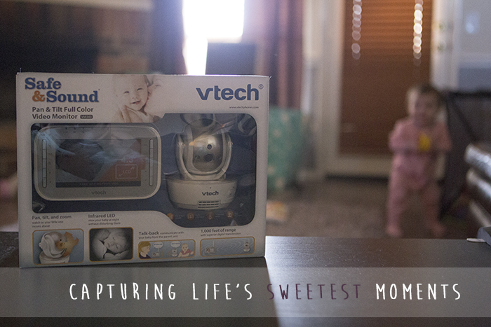 Catching sweet moments with the VTech Safe&Sound® VM343 Expandable baby monitor #VTechBaby #AD