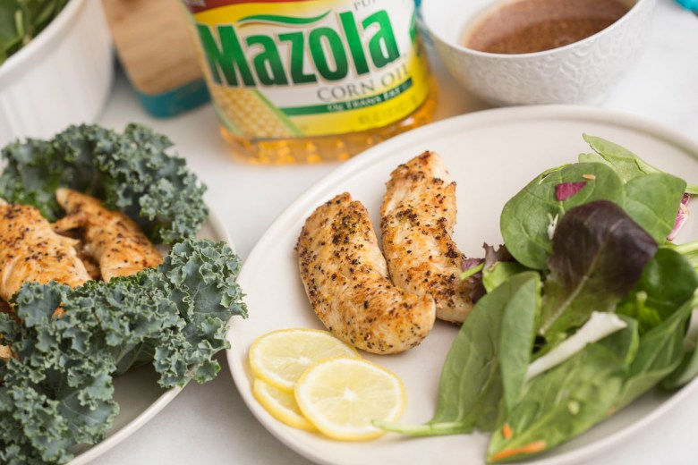 Better for you cooking with Mazola® Corn Oil | behindthestudio.com #AD #SimpleSwap