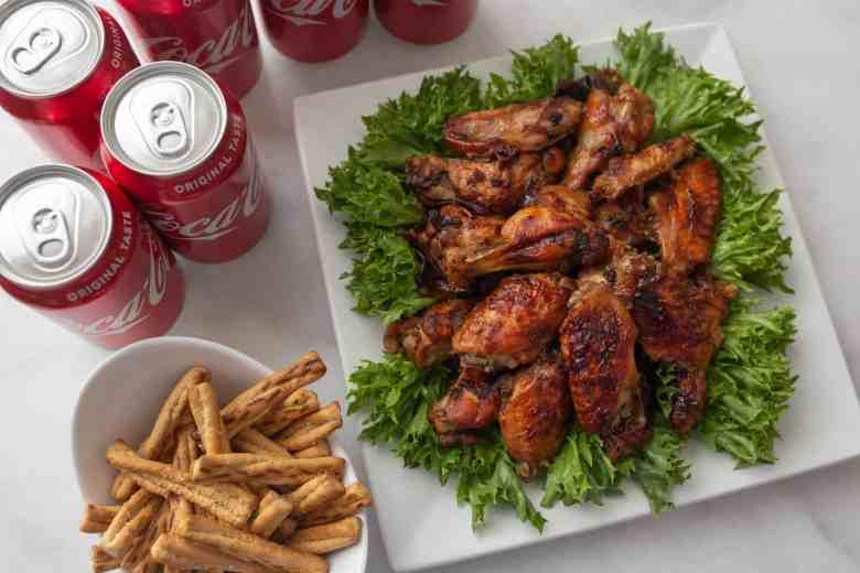 How to make juicy chicken wings with Coca Cola Chicken Wing marinade recipe