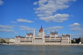 Hungarian Parliament across the Danube