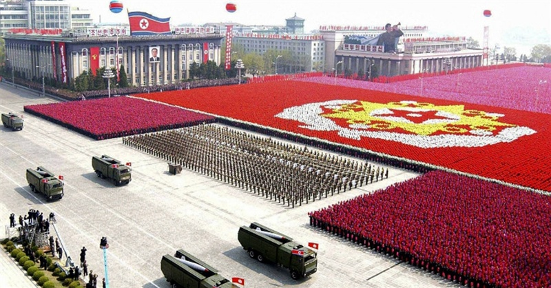north-korea celebration
