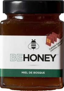 Miel cruda de bosque