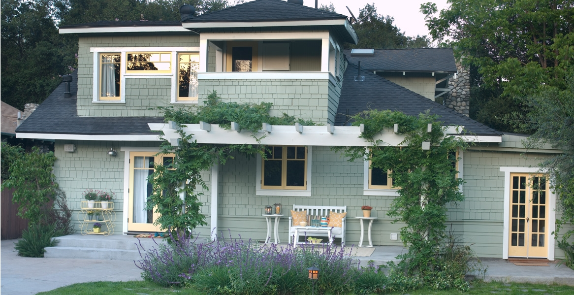 Cool Hue Paint Color Inspiration For Home Exteriors