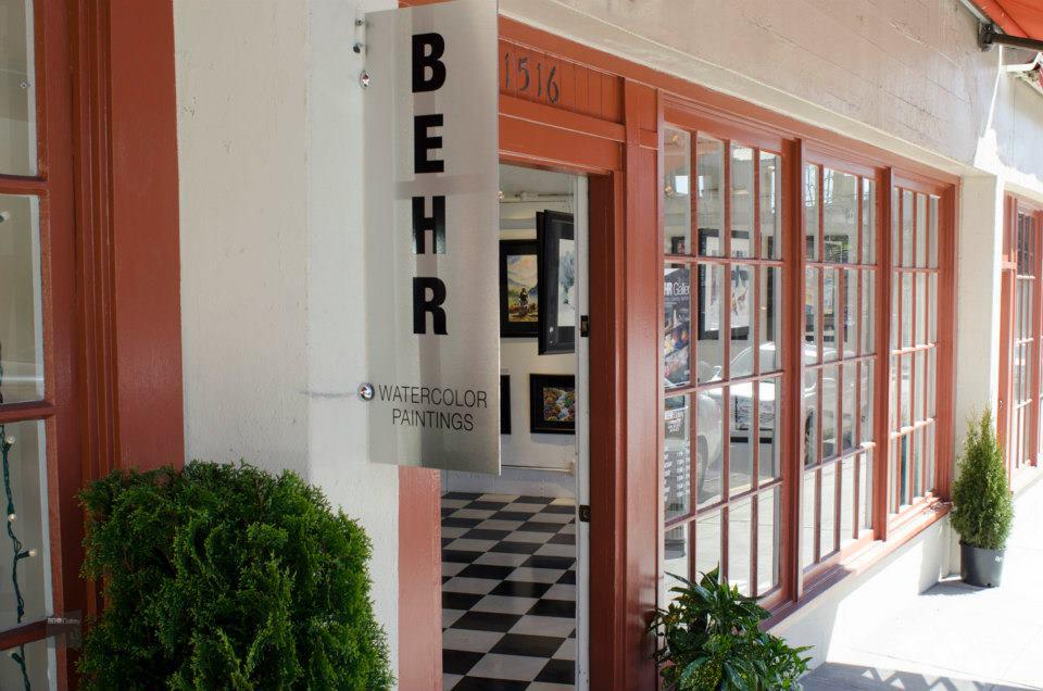 BEHR Gallery inside