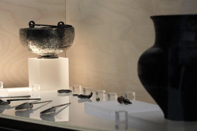 Archeologisch museum Velzeke - binnen - collectie - 013 zilverschat 3