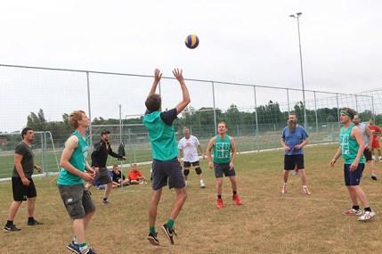 DDL melle wisselbeker volleybal (2)