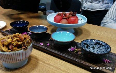 strong sauce light aroma baijiu tasting at en vain baijiu bar beijing china