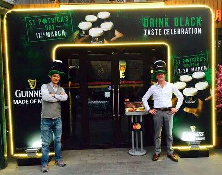 st patrick's day 2016 big smoke local beermania xl irish volunteer paddy o'shea's thel ocalbeijing china (6)