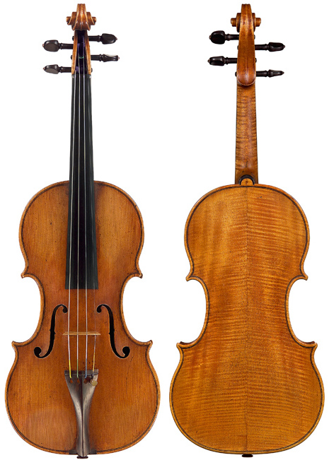 S5318-1vn Amati, A&H 1630 early nicolo, JKB Scroll-Lau