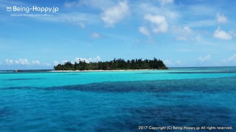 船から見たマニャガハ島