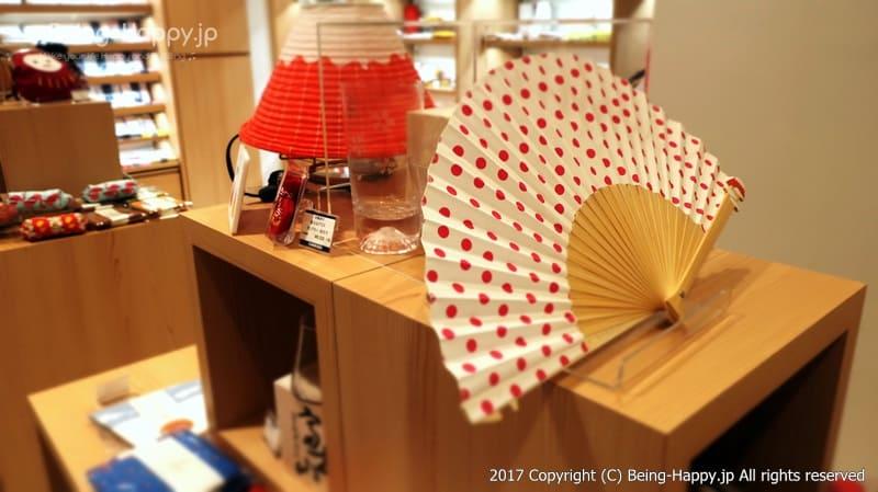 センスなどの和雑貨@丸善 池袋(MARUZEN) photo by 茶子(ちゃこ)