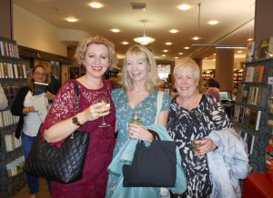 With Louise and author Gill Paul at the launch party