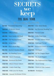 SECRETS WE KEEP - The Blog Tour