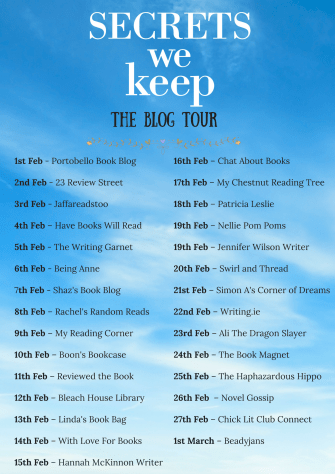 SECRETS WE KEEP - The Blog Tour