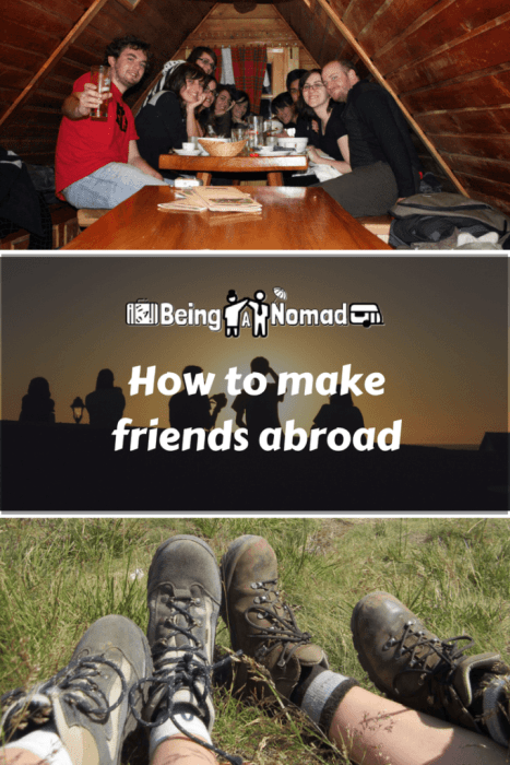 Moving to a new country can be stressful and alienating when you don't know anyone who lives there. This post gives you some tips to more effectively make friends abroad. So whether an expat or digital nomad, you'll never have to be lonely again. #makefriendsabroad #expat #couchsurfing #meetup