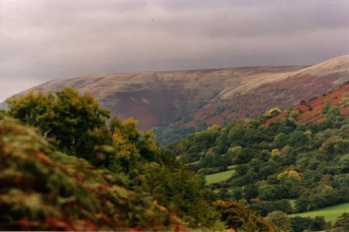 Llanthony Valley Brecon Beacons exquisitely peaceul surroundings
