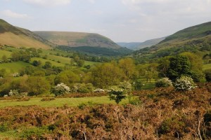 Llanthony Valley Brecon Beacons exquisitely peaceul surroundings