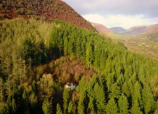 Hidden in the forest Graig Ddu The Cottage in the Forest Llanthony