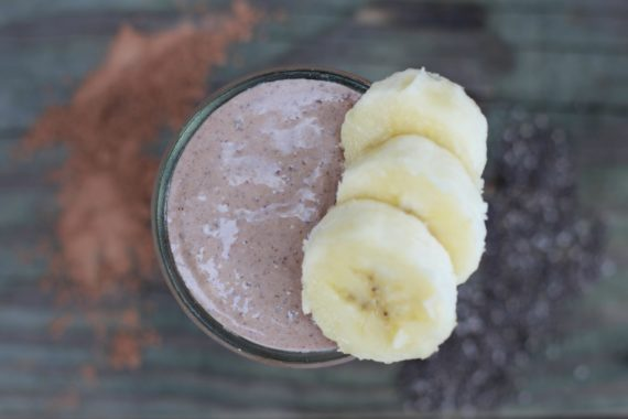 Banana Cashew Butter Smoothie