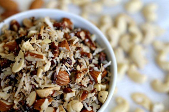 Grainless Cacao Granola