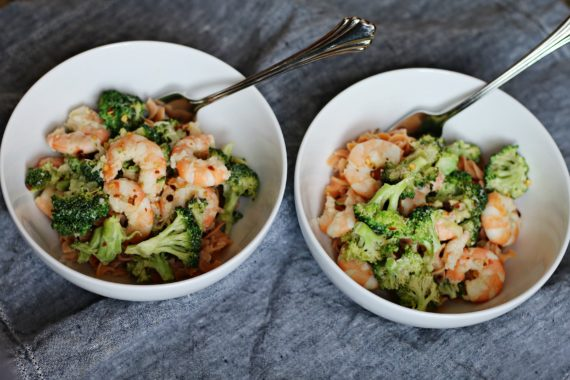 Shrimp & Broccoli Pasta