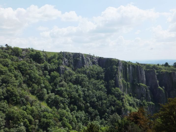 A view across Cheddar Gorge