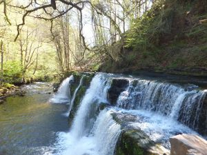 Waterfall Country: Sgwd y Pannwr
