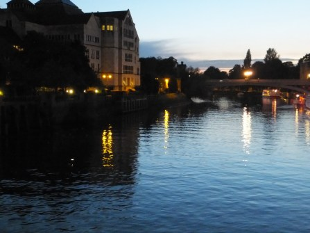 Twilight on the River Ouse