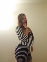Oh no stripes on stripes!
