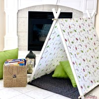 Simple DIY Kid Tent
