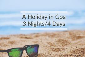 Goa 3 Nights 4 Days