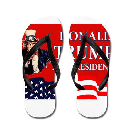 Image result for trump flip flops