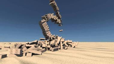 jenga tower falling