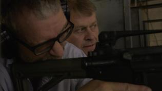 Picture of Gersh Kuntzman with AR-15.