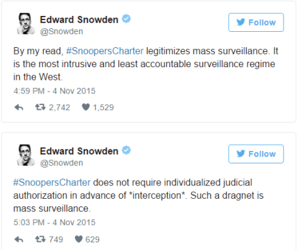 snowden may comments