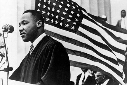 Martin Luther King Jr American Flag