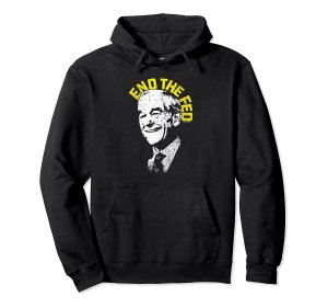 Ron Paul End The Fed Hoodie Image