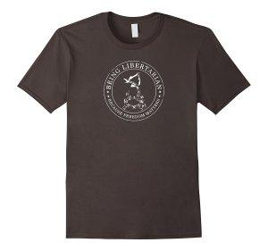 Alternate Being Libertarian Logo T-Shirt Image