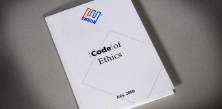 Enron code of ethics