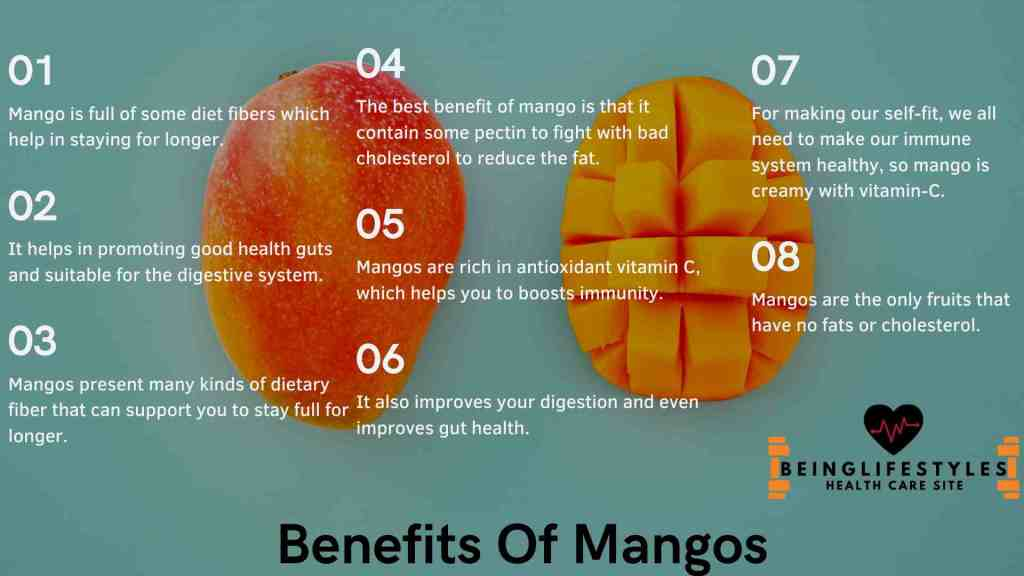 Benefits Of Mangos