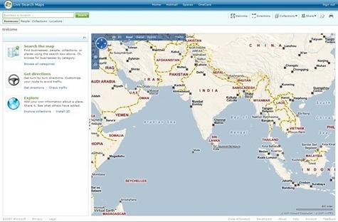 Live Maps Home